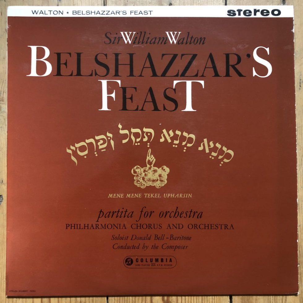 SAX 2319 Walton Belshazzar's Feast / Partita For Orchestra Walton B/S