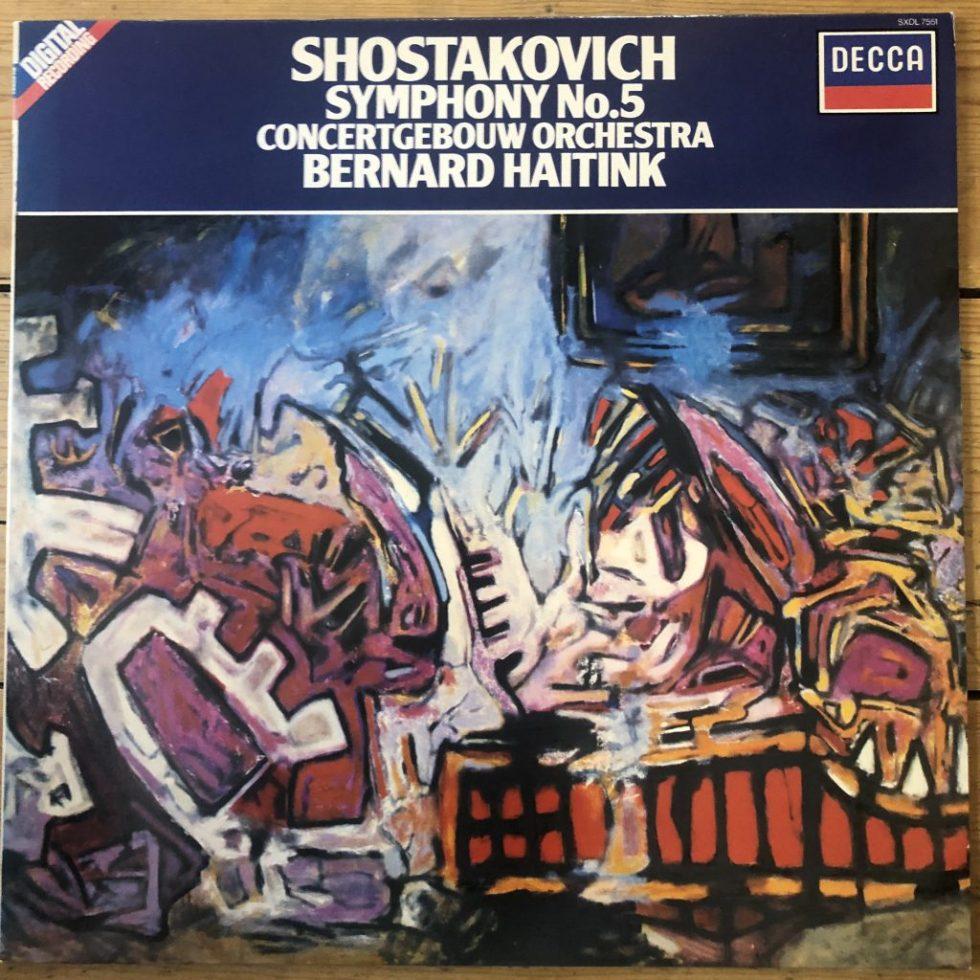 SXDL 7551 Shostakovich Symphony No. 5 / Haitink