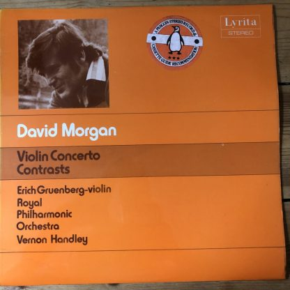 SRCS 97 David Morgan Violin Concerto etc. / Erich Gruenberg