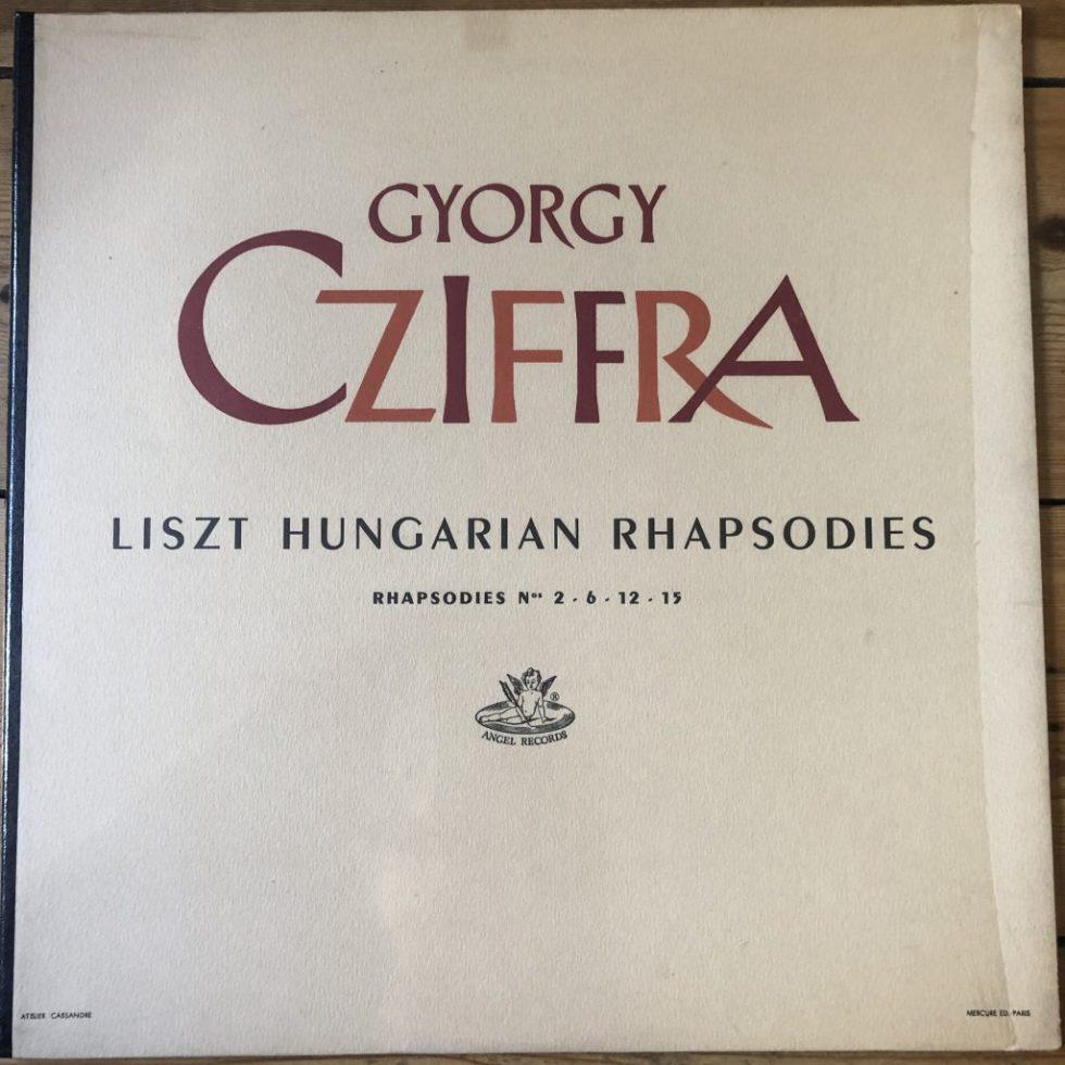 ANG 35429 Liszt Hungarian Rhapsodies Nos. 2, 6, 12, 15