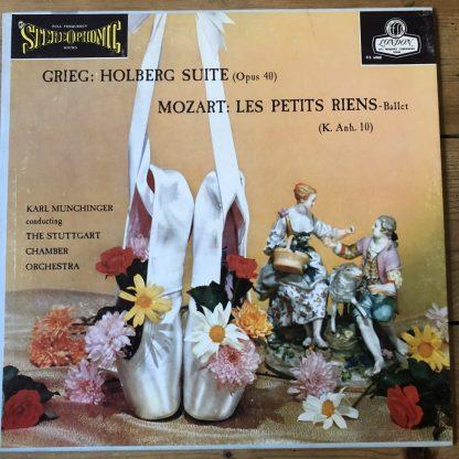 CS 6088 Grieg Holberg Suite / Mozart Les Petites Riens