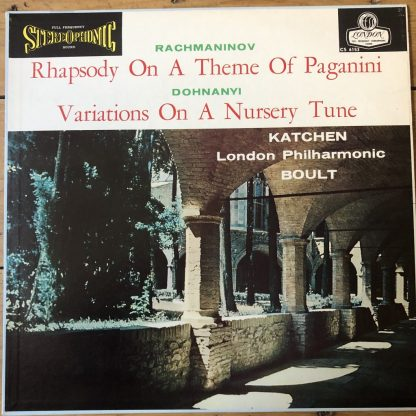 CS 6153 Rachmaninov Rhapsody / Dohnanyi Variations