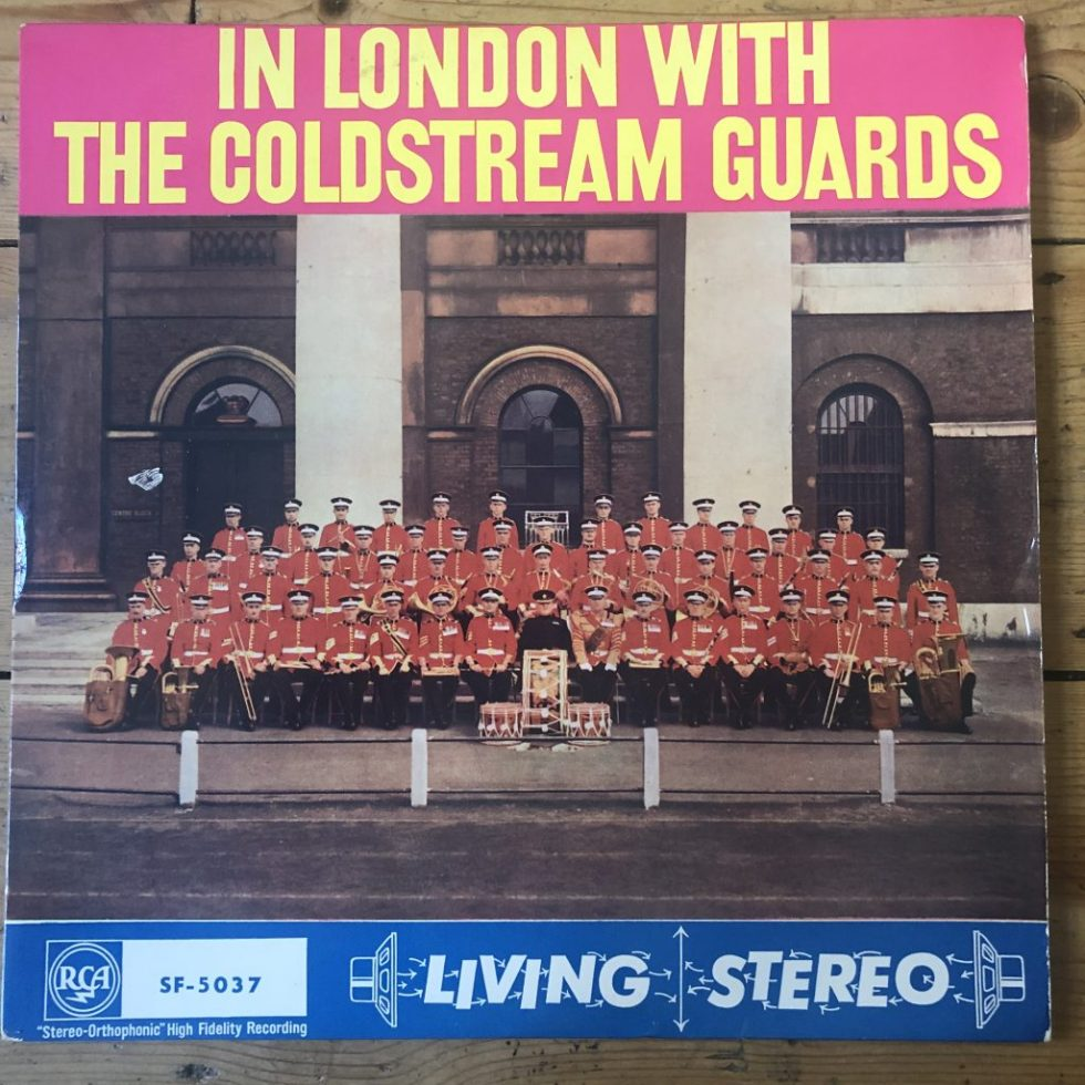 SF 5037 In London with the Coldstream Guards