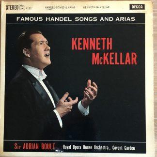 SKL 4121 Kenneth McKellar Handel Songs and Arias W/B