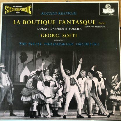 CS 6005 Rossini-Respighi La Boutique Fantasque