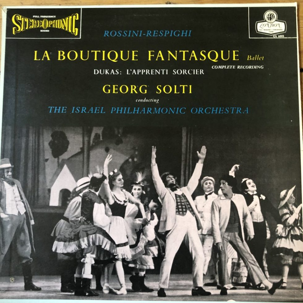 CS 6005 Rossini-Respighi La Boutique Fantasque