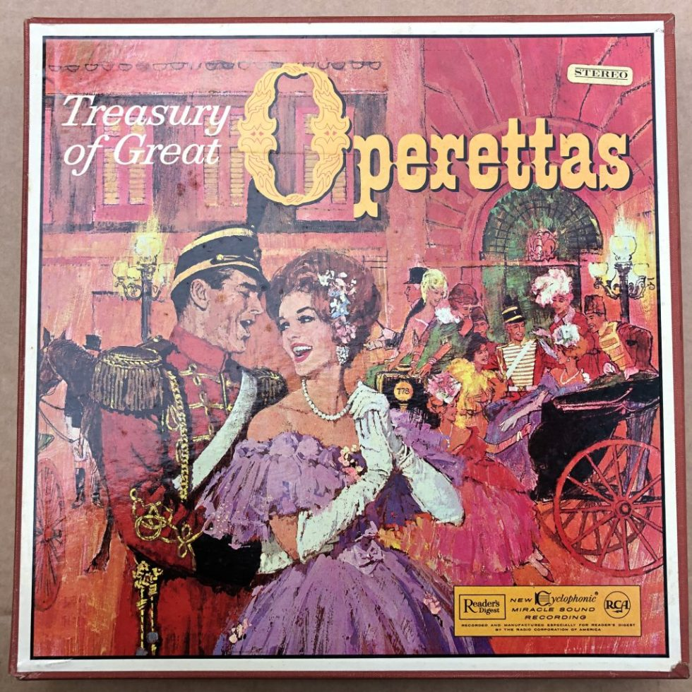 RDS 441-452 Treasury of Great Operettas 12 LP BOX SET