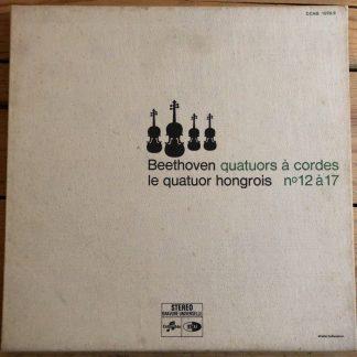 CCHS 1076/9 Beethoven String Quartets 12-17