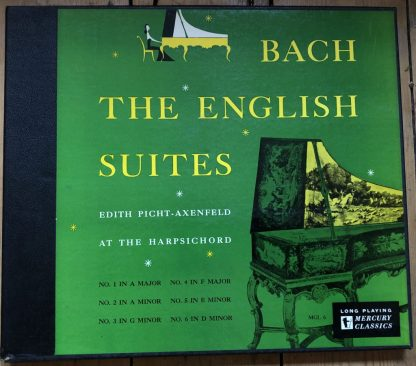 MCL 6 Bach English Suites / Edith Picht-Axenfeld