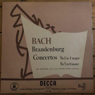 LXT 2540 Bach Brandenburg Concertos 1 & 5