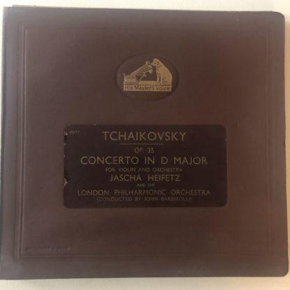 DB 3159-62 Tchaikovsky Violin Concerto / Heifetz / Barbirolli