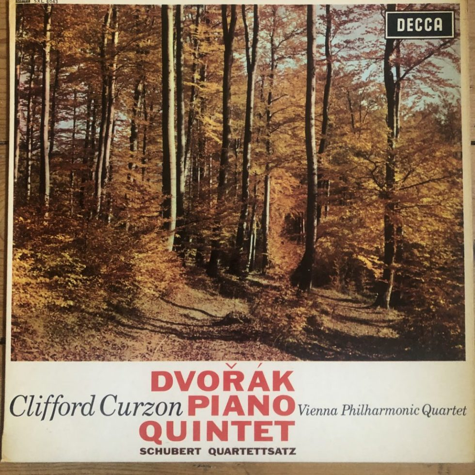 SXL 6043 Dvorak Piano Quintet / Curzon / VP Quartet W/B