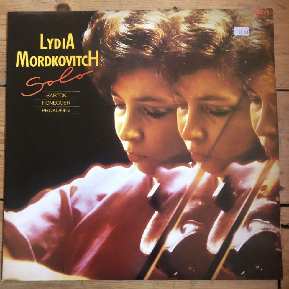 RL 25311 Bartok Honegger Prokofiev Lydia Mordkovitch Solo Violin