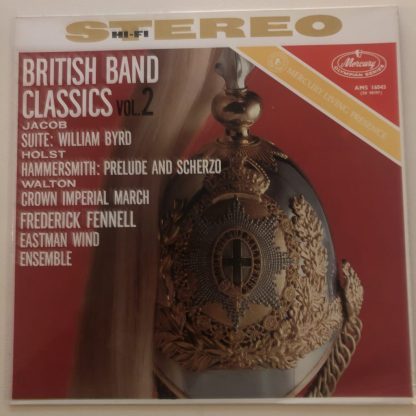 AMS 16043 British Brass Band Classics, Vol. 2 / Fennell / Eastman Wind Ensemble P/S