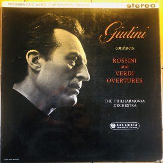 SAX 2377 Rossini & Verdi Overtures / Giulini B/S