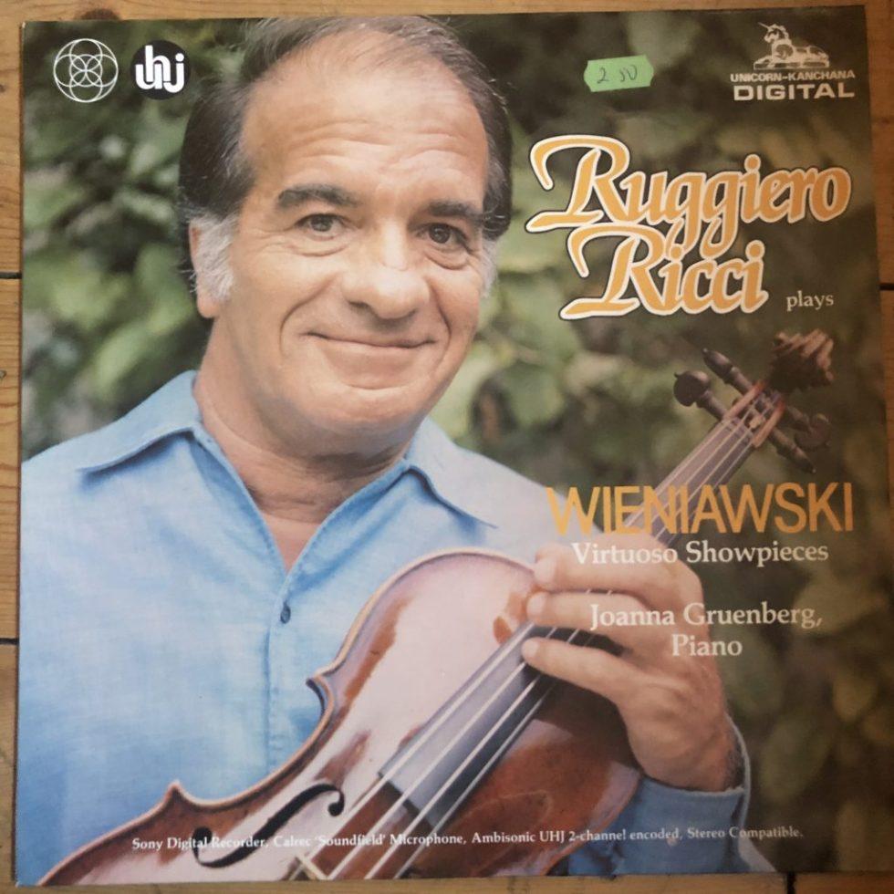 DKP 9003 Wieniawski Virtuoso Showpieces
