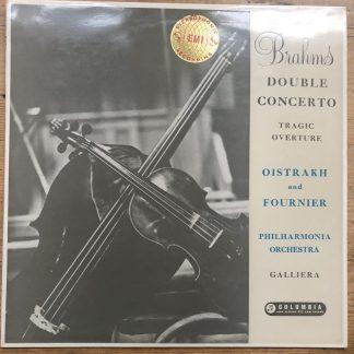 SAX 2264 Brahms Double Concerto Oistrakh & Fournier Philharmonia Galliera B/S