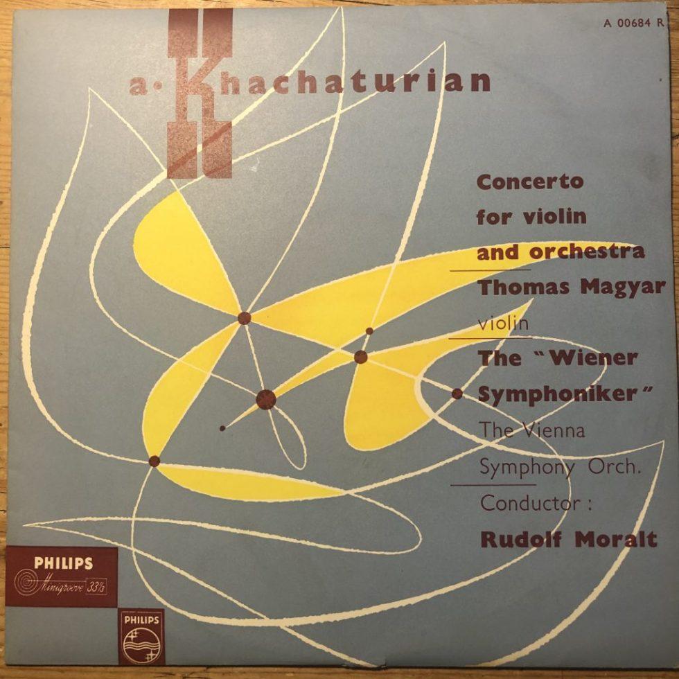 A 00684 R Khachaturian Violin Concerto / Thomas Magyar