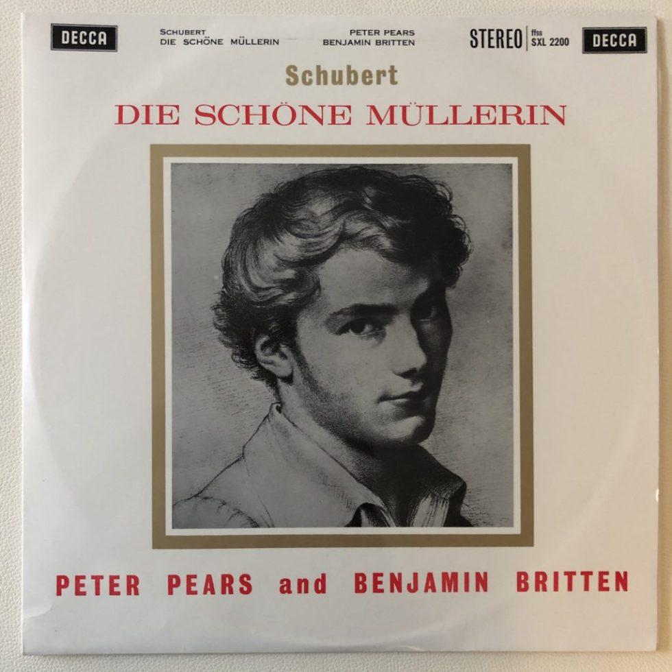 SXL 2200 Schubert Die Schone Mullerin / Pears / Britten W/B