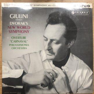 SAX 2405 Dvorak 'New World' Symphony etc. / Giulini B/S