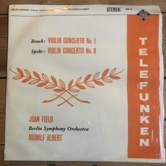 SMA 19 Bruch / Spohr Violin Concerts / Joan Field