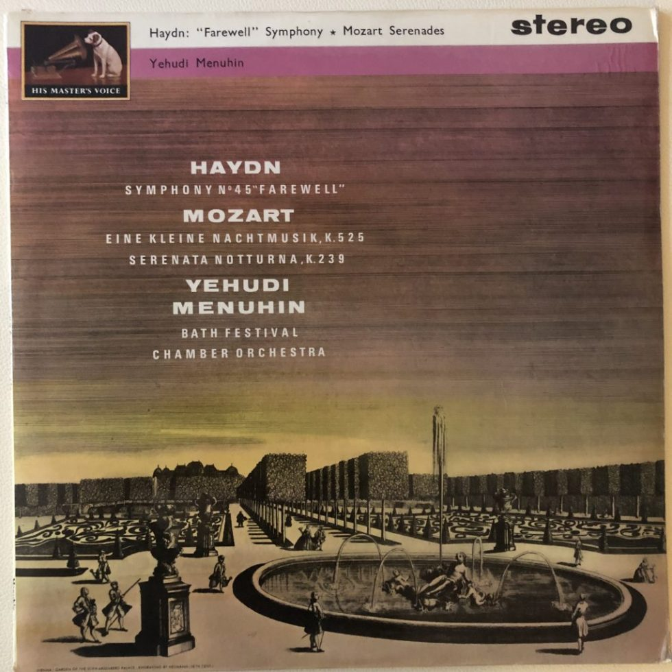 ASD 506 Haydn Farewell Symphony / Mozart Serenades / Menuhin W/G