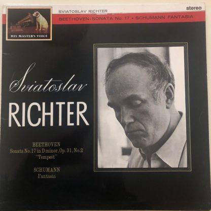 "ASD 450 Beethoven ""Tempest"" Sonata / Schumann Fantasia / Richter"