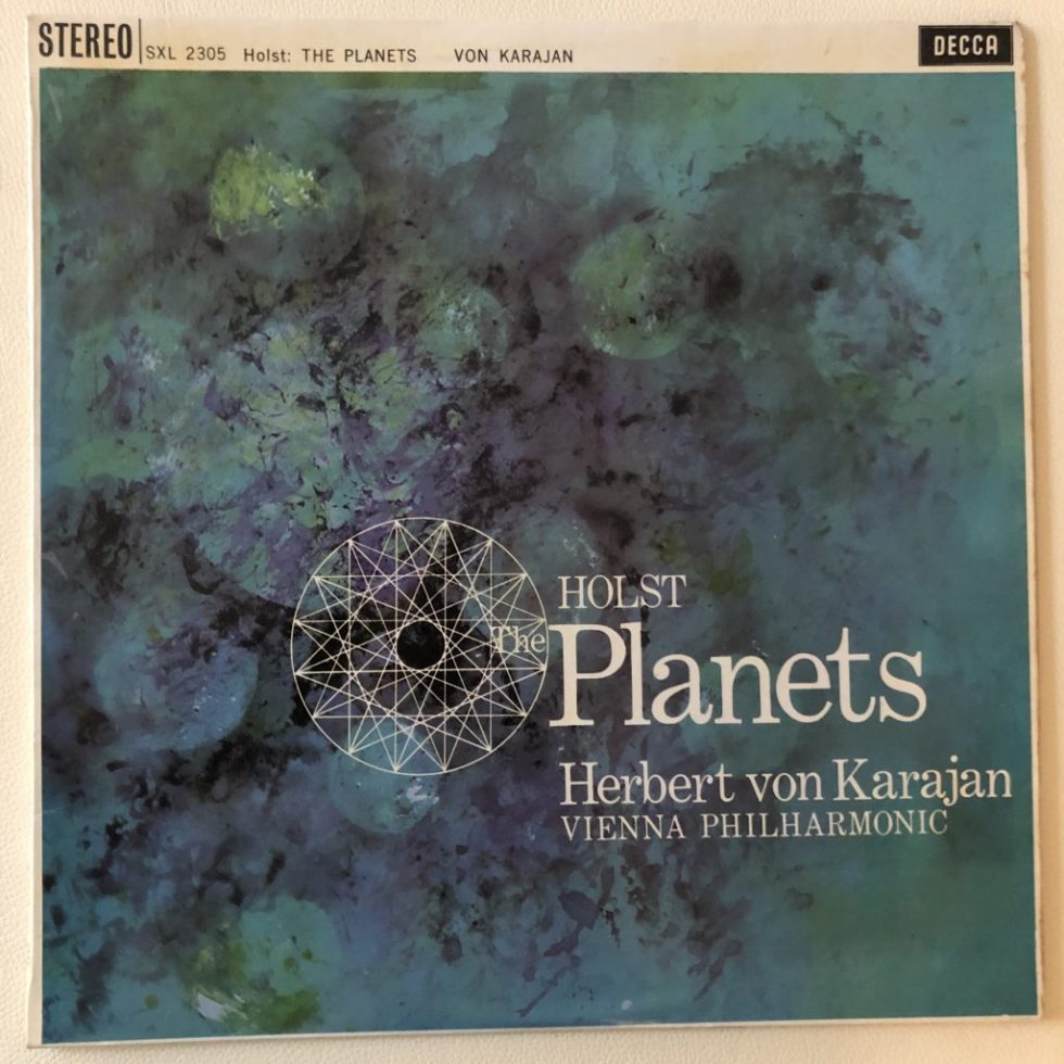 SXL 2305 Holst The Planets / Karajan / VPO W/B
