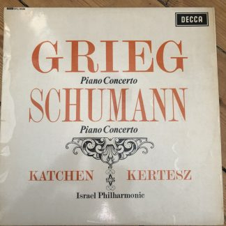 SXL 6028 Grieg / Schumann Piano Concertos