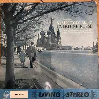 SB 2061 Prokofiev Symphony No. 7 etc. / Martinon GROOVED R/S