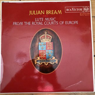 SB 6698 Lute Music From The Royal Courts of Europe