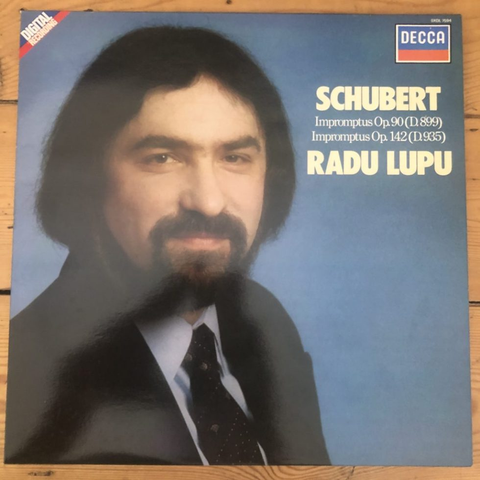 SXL 7594 Schubert Impromptus Op. 90