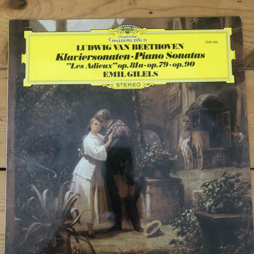 2530 589 Beethoven Piano Sonatas Nos. 25, 26 & 27 / Emil Gilels