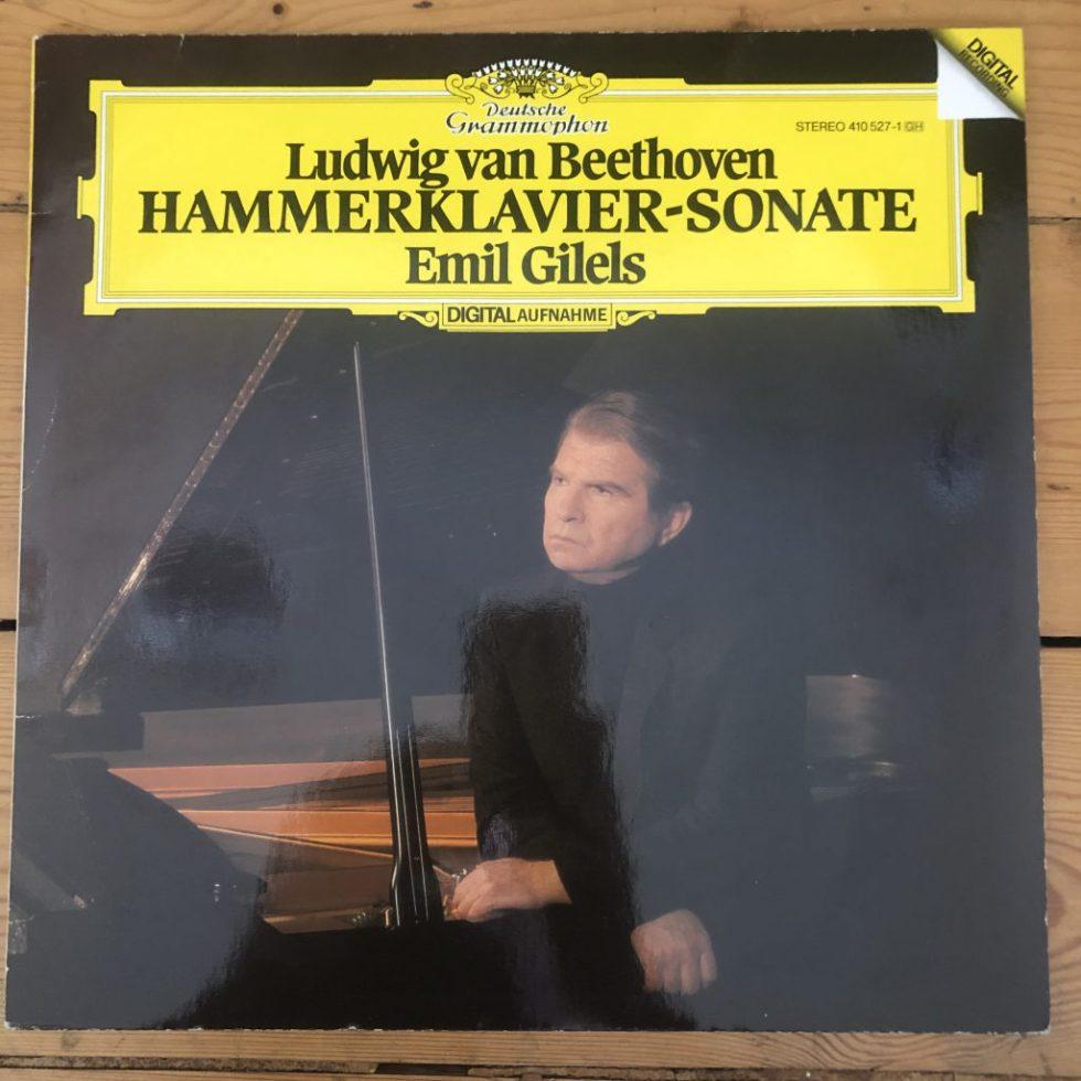 410 527-1 Beethoven Hammerklavier Sonata / Emil Gilels
