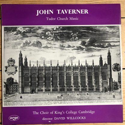 ZRG 5316 John Tavener Tudor Church Music