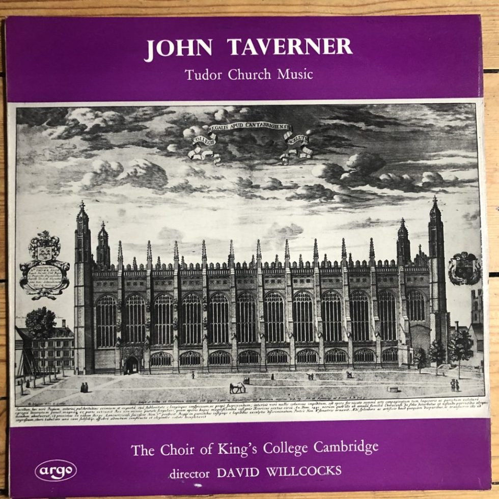 ZRG 5316 John Tavener Tudor Church Music