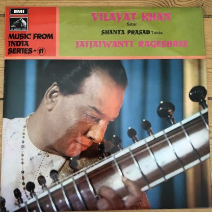 ASD 2460 Music from India No. 11 / Vilayat Khan / Prasad