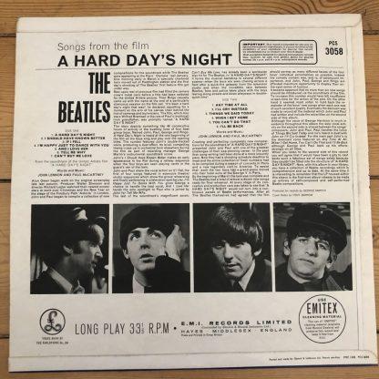 PCS 3058 The Beatles A Hard Day's Night