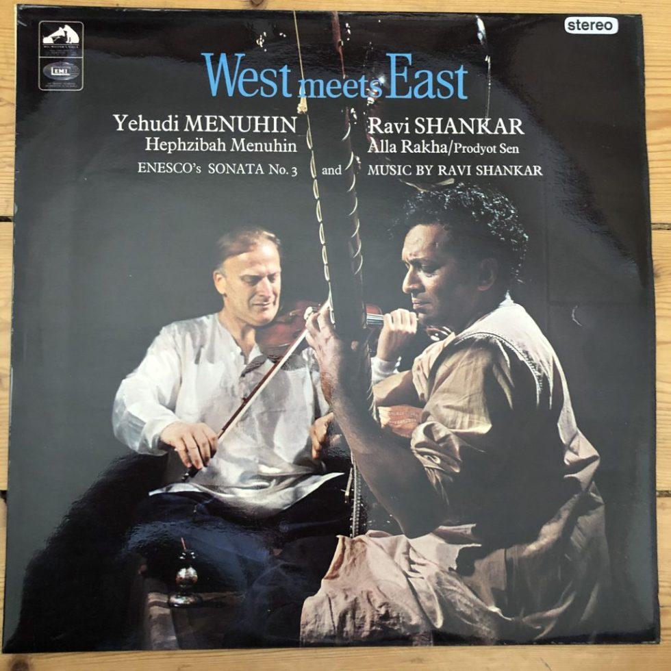 ASD 2294 WEST meets EAST / Yehudi Menuhin / Ravi Shankar S/C