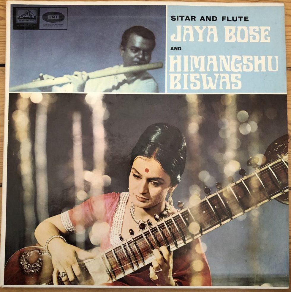 ECLP 2372 Jaya Bose and Himangshu Biswas Sitar & Flute