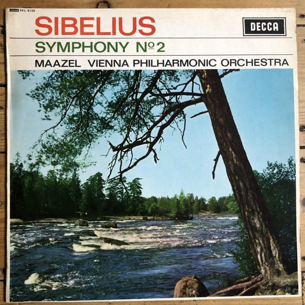 SXL 6125 Sibelius Symphony No. 2 / Maazel / VPO W/B