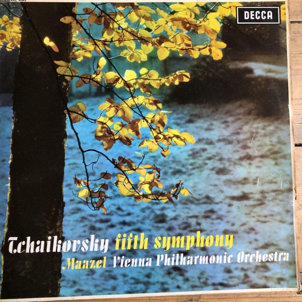 SXL 6085 Tchaikovsky Symphony No. 5 / Maazel / VPO W/B