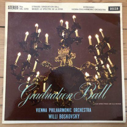 SXL 2250 Strauss Graduation Ball & Weber Le Spectre De La Rose / Boskovsky W/B