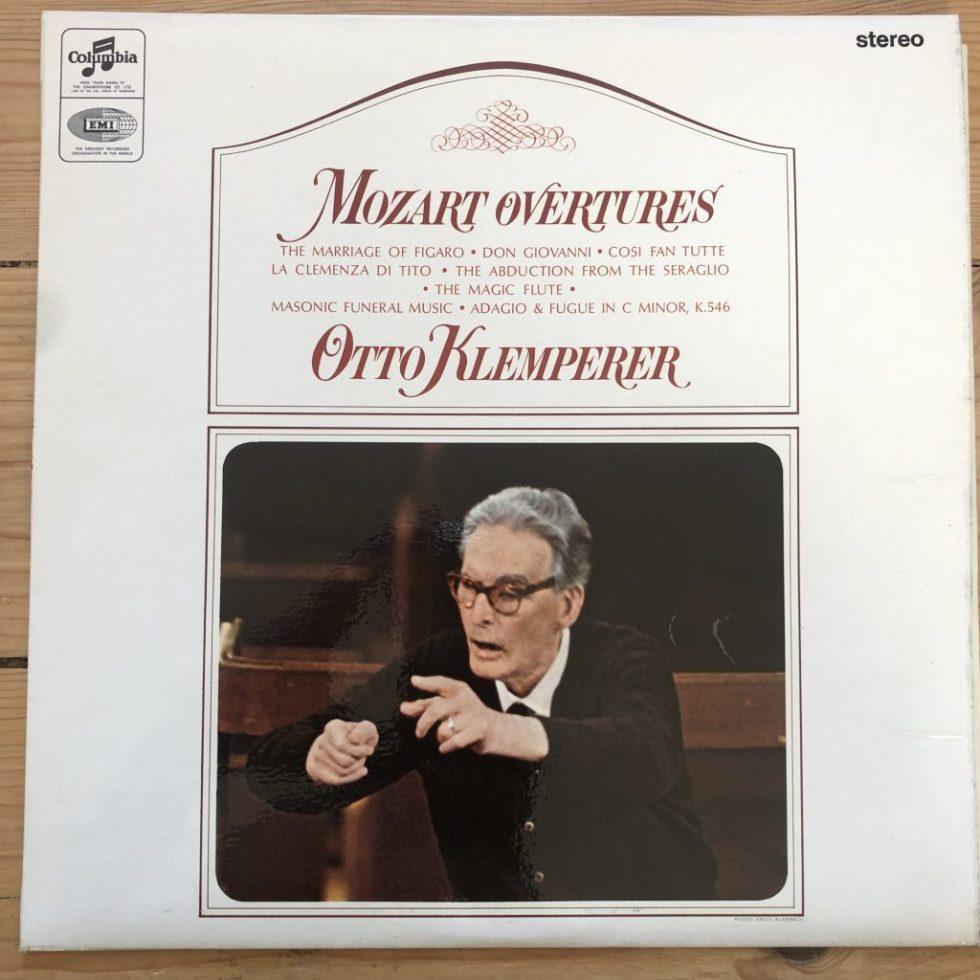SAX 2587 Mozart Overtures / Klemperer / Philharmonia E/R