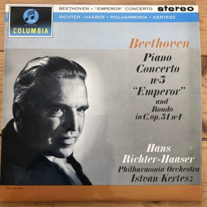 SAX 2422 Beethoven Piano Concerto No. 5 'Emperor' / Richter-Haaser B/S