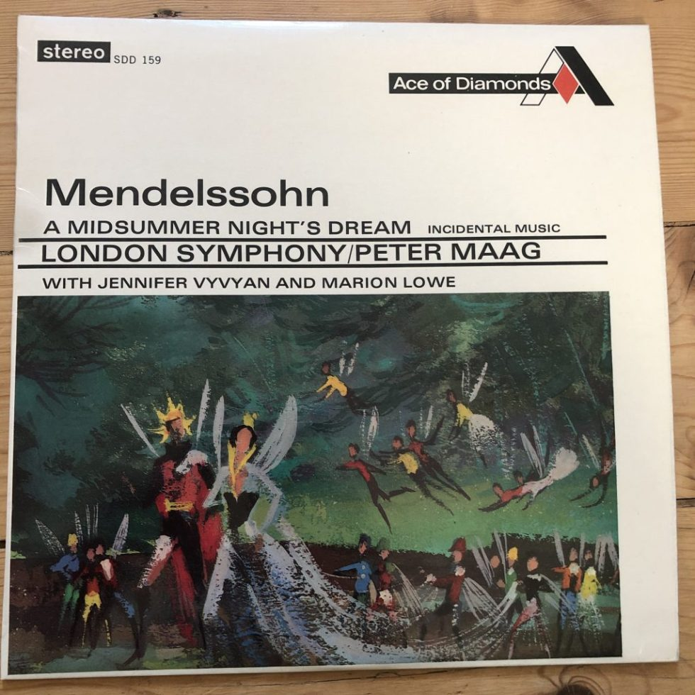 SDD 159 Mendelssohn Midsummer Night's Dream