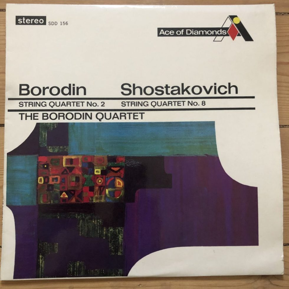 SDD 156 Borodin / Shostakovich String Quartets / The Borodin Quartet / FFRR