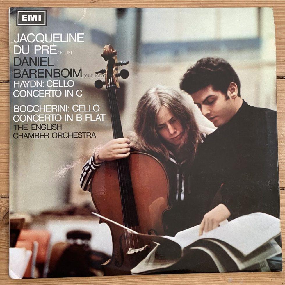ASD 2331 Haydn / Boccherini Cello Concertos / Du Pre / Barenboim / ECO S/C