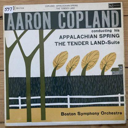 SB 2104 Copland Appalachian Spring / Tender Land suite