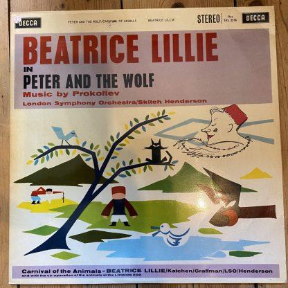 SXL 2218 Saint-Saens Carnival of the Animals etc. / Beatrice Lillie W/B